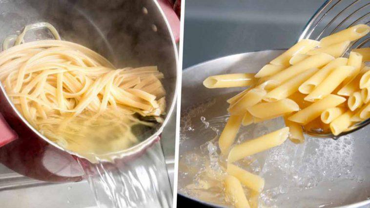 Eau de cuisson des pâtes ne les jetez plus : Elles ont des vertus insoupçonnées !