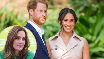 Meghan Markle et Harry Kate Middleton hypocrite situation étonnante
